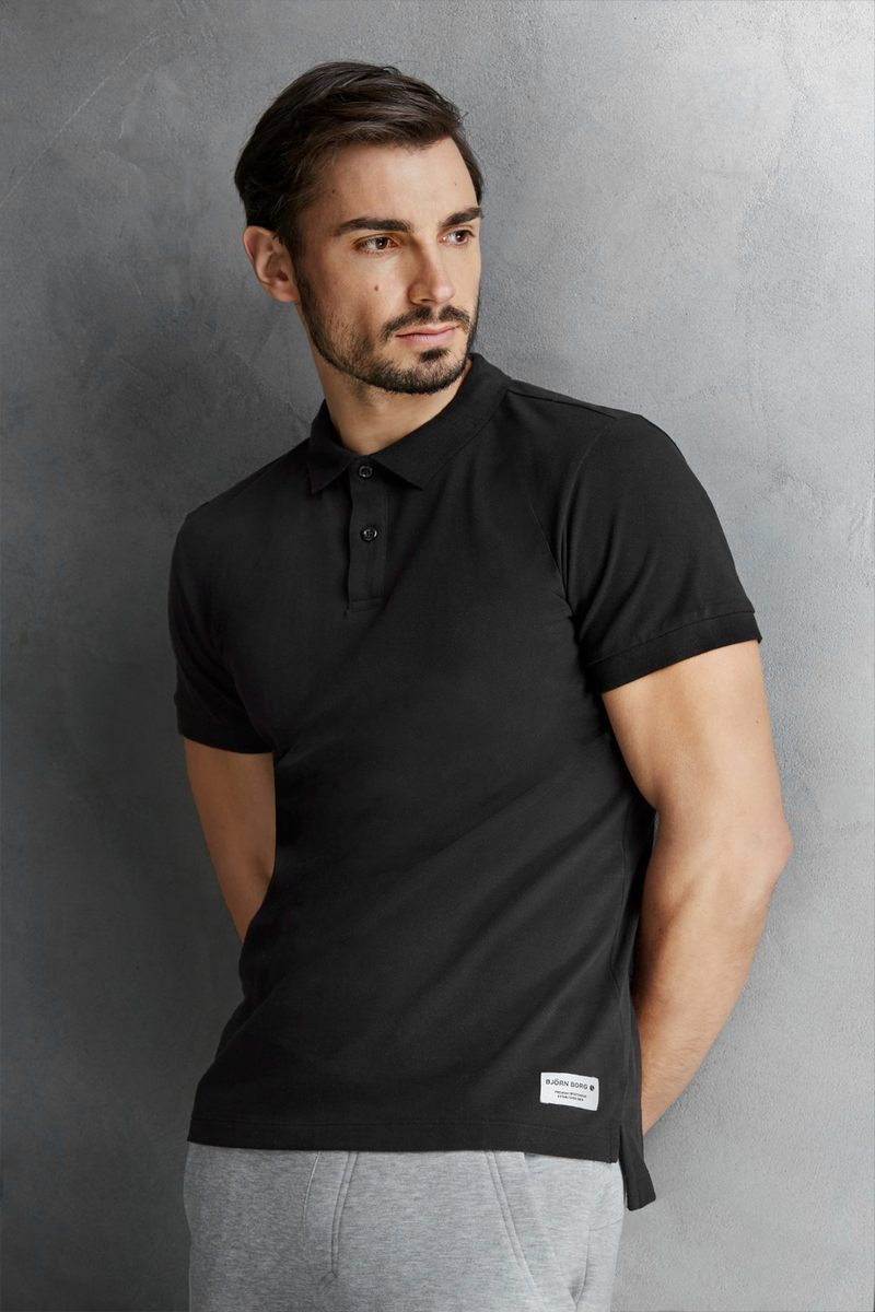 Bjorn Borg Poloshirt Black Beauty photo 3