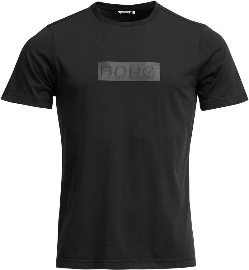 Björn Borg Short Sleeve Tee Shirt Sport Freizeit T-Shirt black 9999-1140/_90651