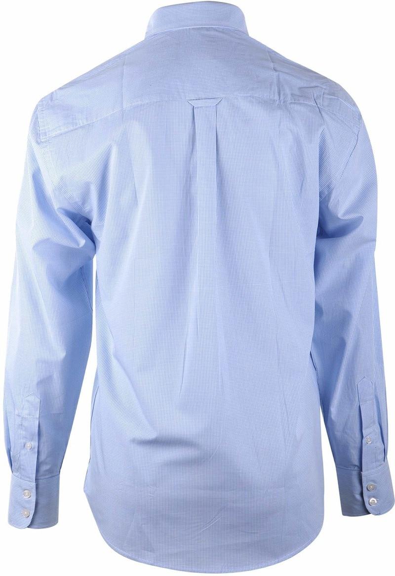 Blau Casual Hemd Kariert