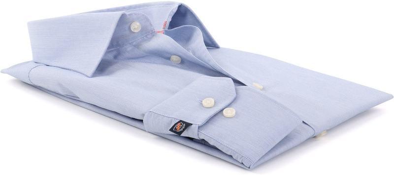 Blauw Gestreept Overhemd 51-06 foto 2