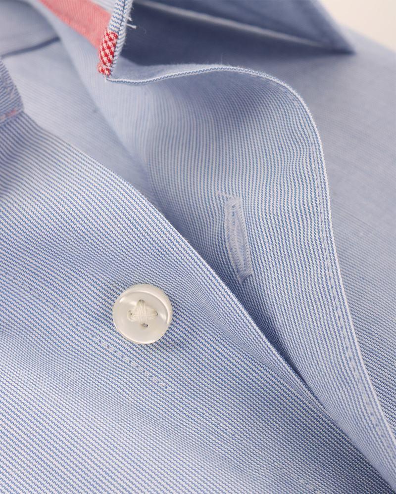 Blauw Gestreept Overhemd 51-06 foto 1