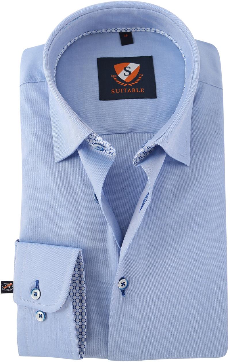 Blauw Overhemd 154-2  online bestellen | Suitable