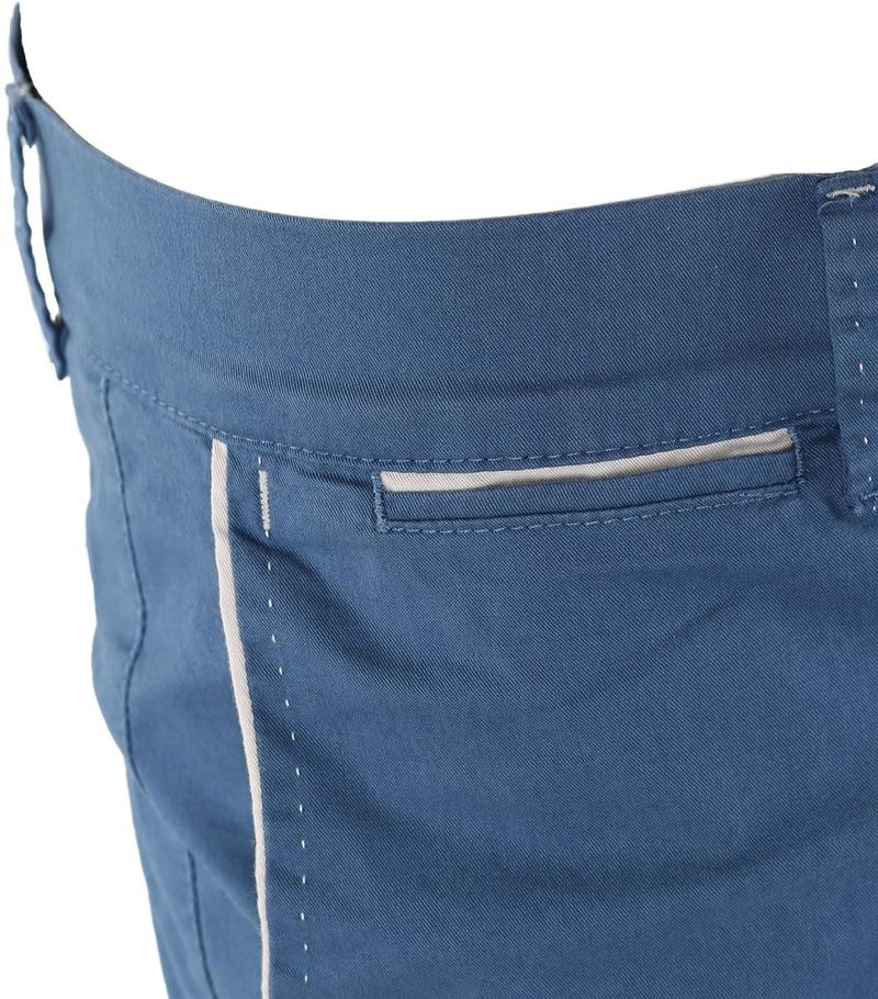 Detail Blauwe Korte Broek