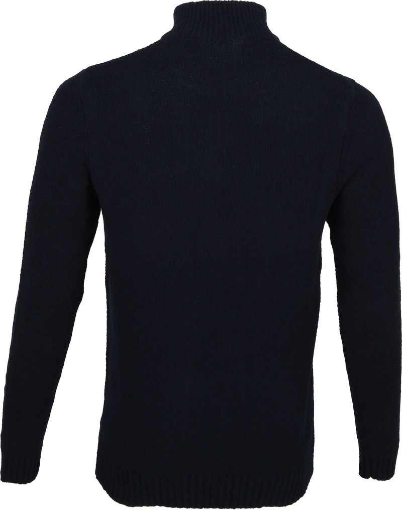 Blue Industry Boucle Trui Navy