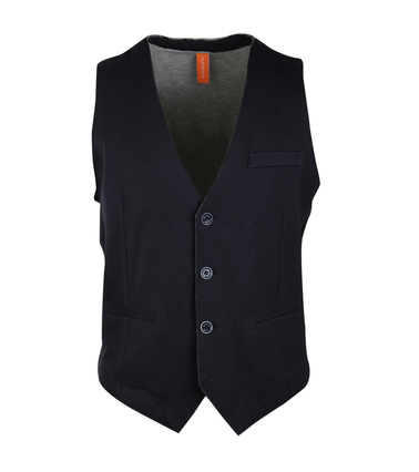 Blue Industry Casual Gilet Donkerblauw  online bestellen | Suitable