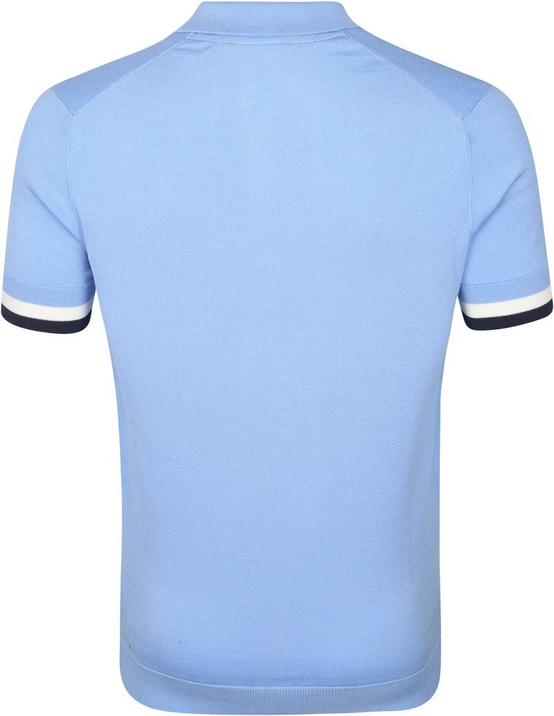 Blue Industry M19 Polo Lichtblauw