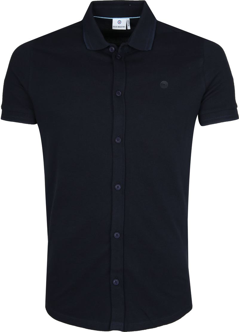 Blue Industry Navy Polo foto 0