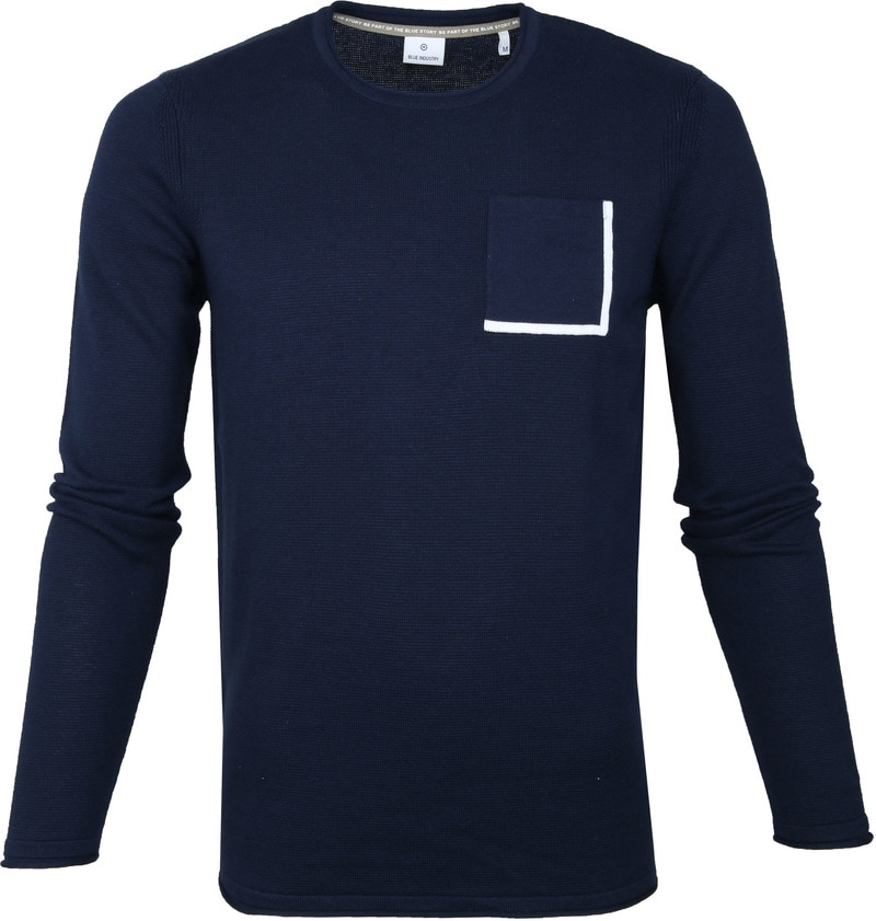 Blue Industry Navy Pullover photo 0