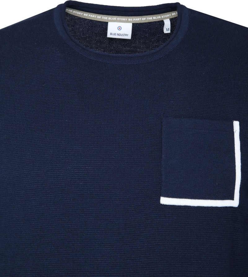 Blue Industry Navy Pullover photo 1