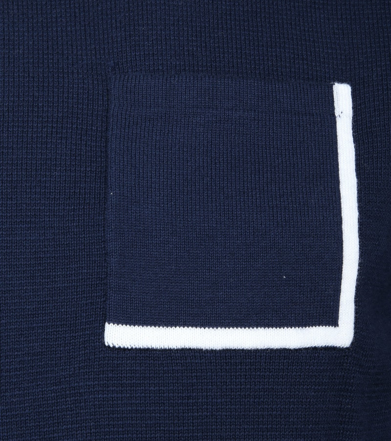 Blue Industry Navy Pullover photo 2
