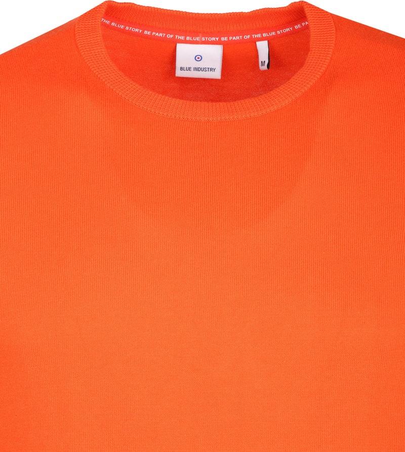 Blue Industry Oranje Trui foto 1