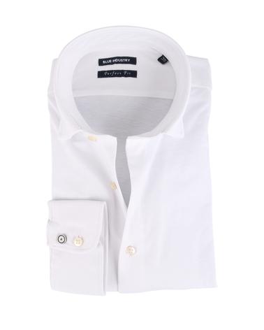 Blue Industry Overhemd Stretch Wit  online bestellen   Suitable