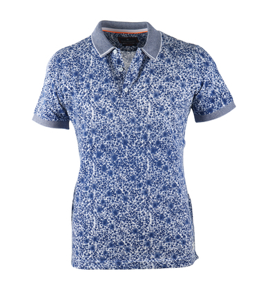 Blue Industry Polo Blue Splash  online bestellen | Suitable