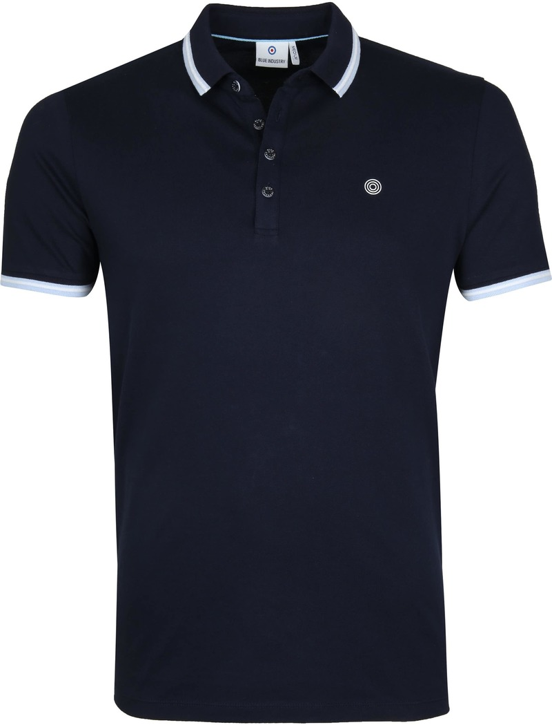 Blue Industry Polo M24 Navy foto 0