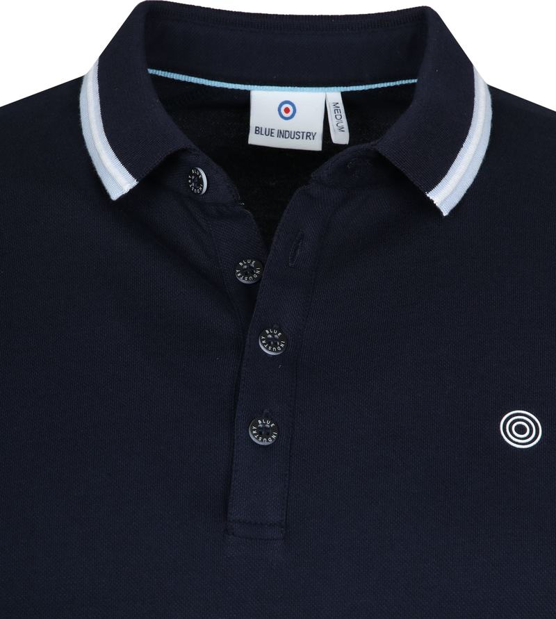 Blue Industry Polo M24 Navy foto 1