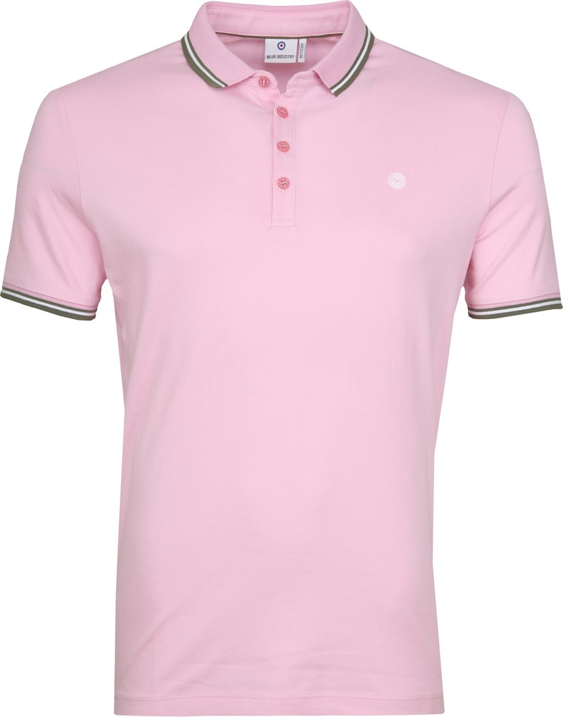 Blue Industry Poloshirt M21 Pink photo 0