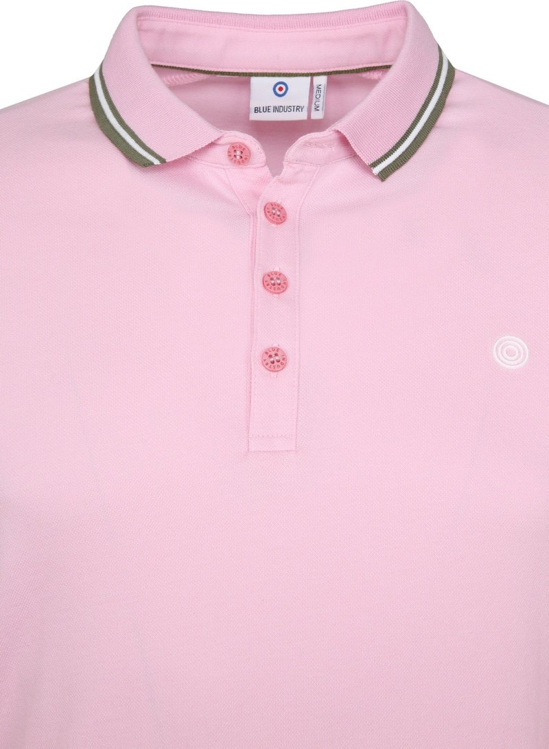 Blue Industry Poloshirt M21 Pink photo 1