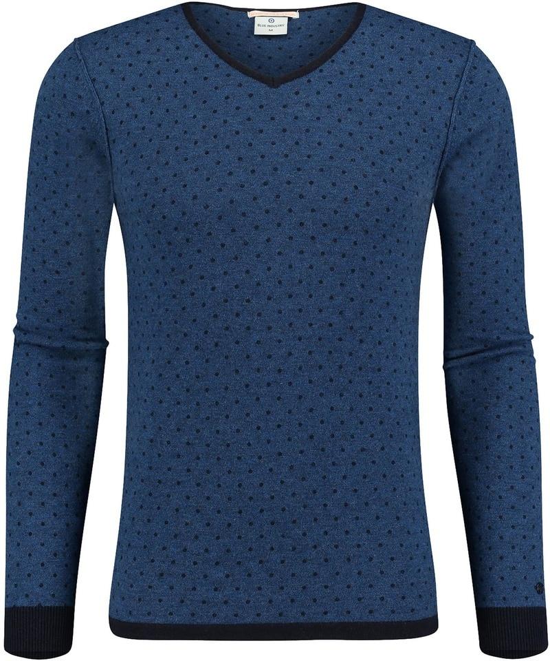 Blue Industry Pullover Blauw PinPoint  online bestellen   Suitable