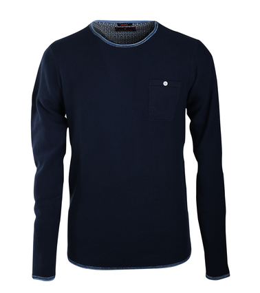 Blue Industry Pullover Donkerblauw  online bestellen | Suitable