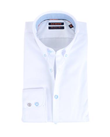 Blue Industry Shirt Button Down Wit  online bestellen | Suitable
