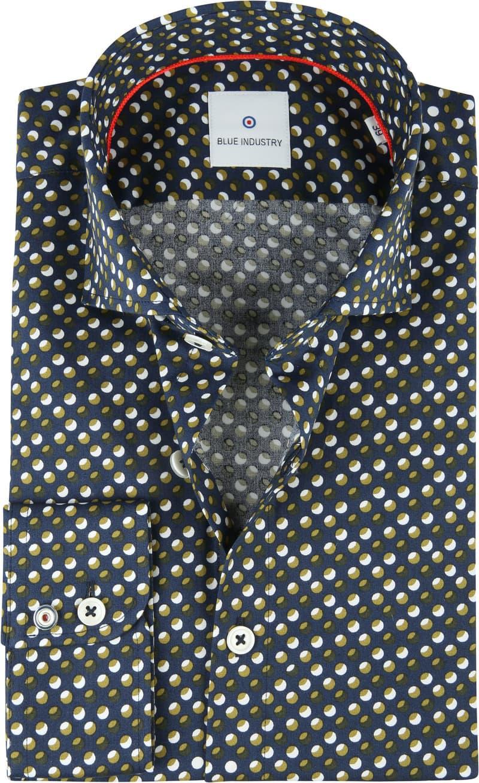Blue Industry Shirt Dots Green photo 0