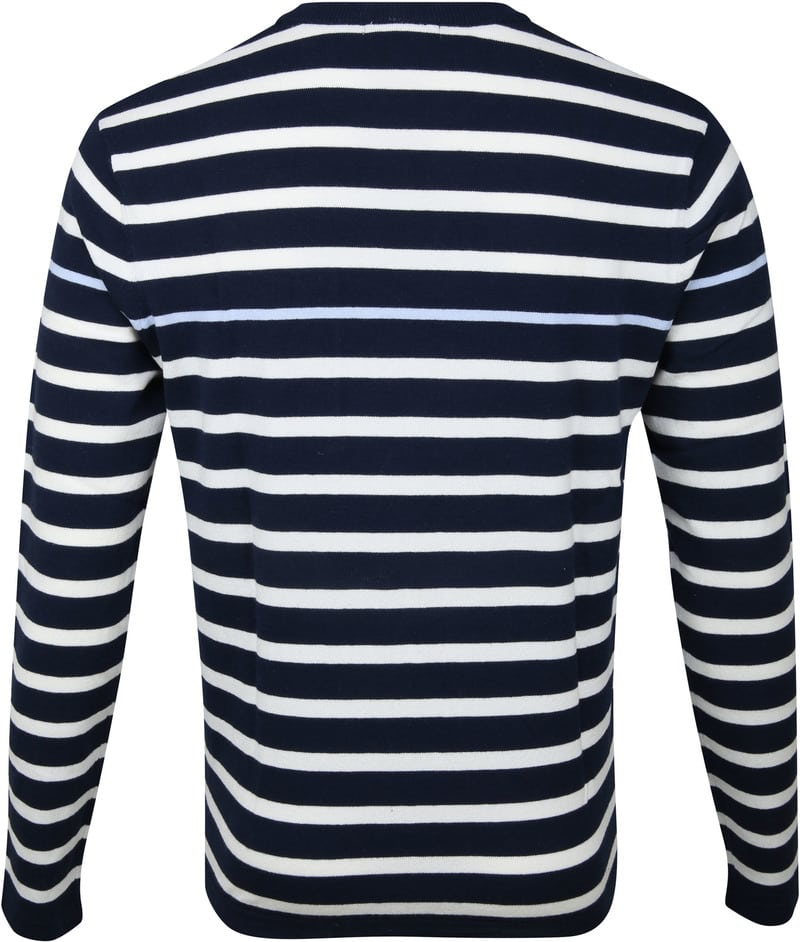 Blue Industry Stripe Pullover Navy photo 3