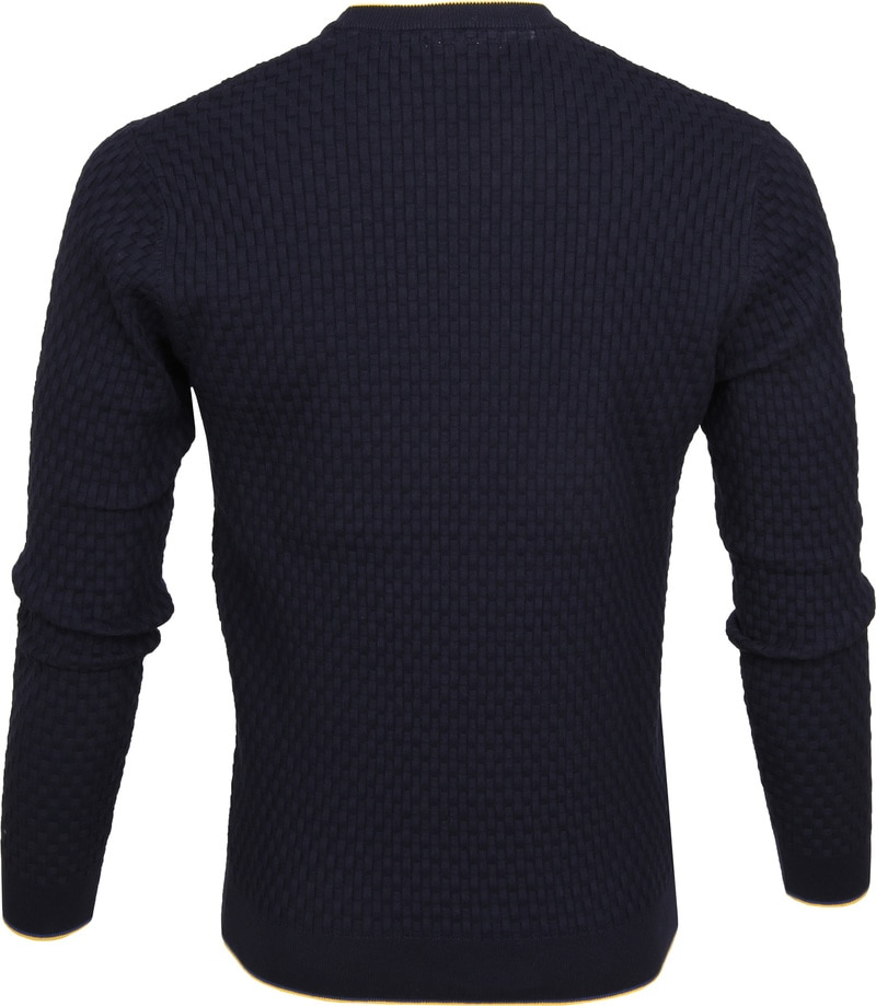 Blue Industry Structure Pullover Navy photo 3
