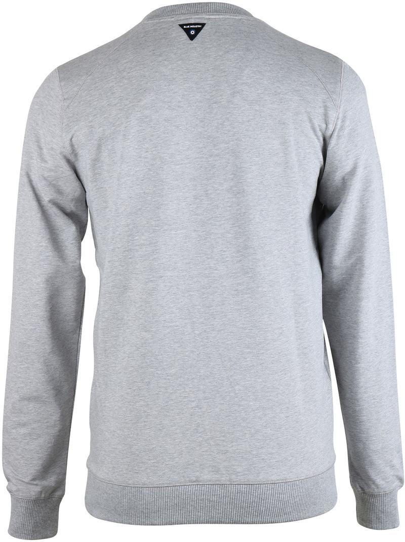 Blue Industry Sweater Grijs foto 1