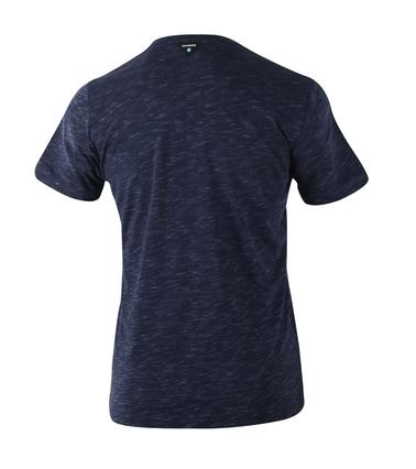 Detail Blue Industry T-shirt Donkerblauw Print