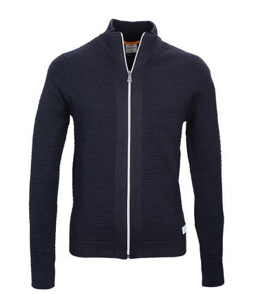 Blue Industry Vest met Rits donkerblauw  online bestellen | Suitable