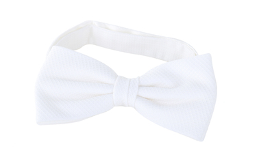 Bow Tie Pique White photo 0