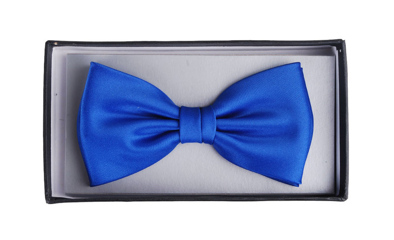 Bow Tie Royal Blue photo 1