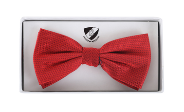 Bow Tie Silk Red photo 1
