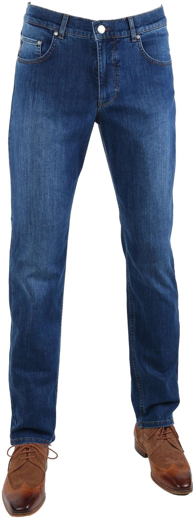 Brax Cooper Denim Jeans Blue Five Pocket  online bestellen | Suitable