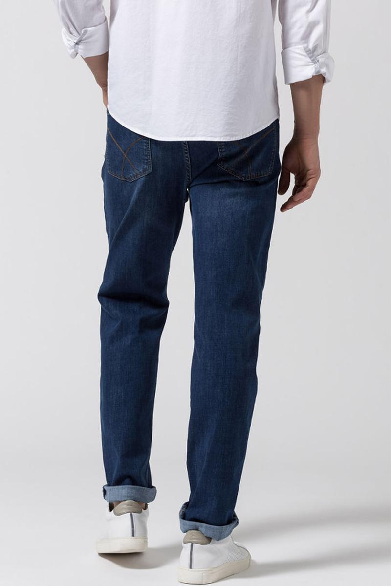 Brax Cooper Denim Jeans Blue Five Pocket foto 3