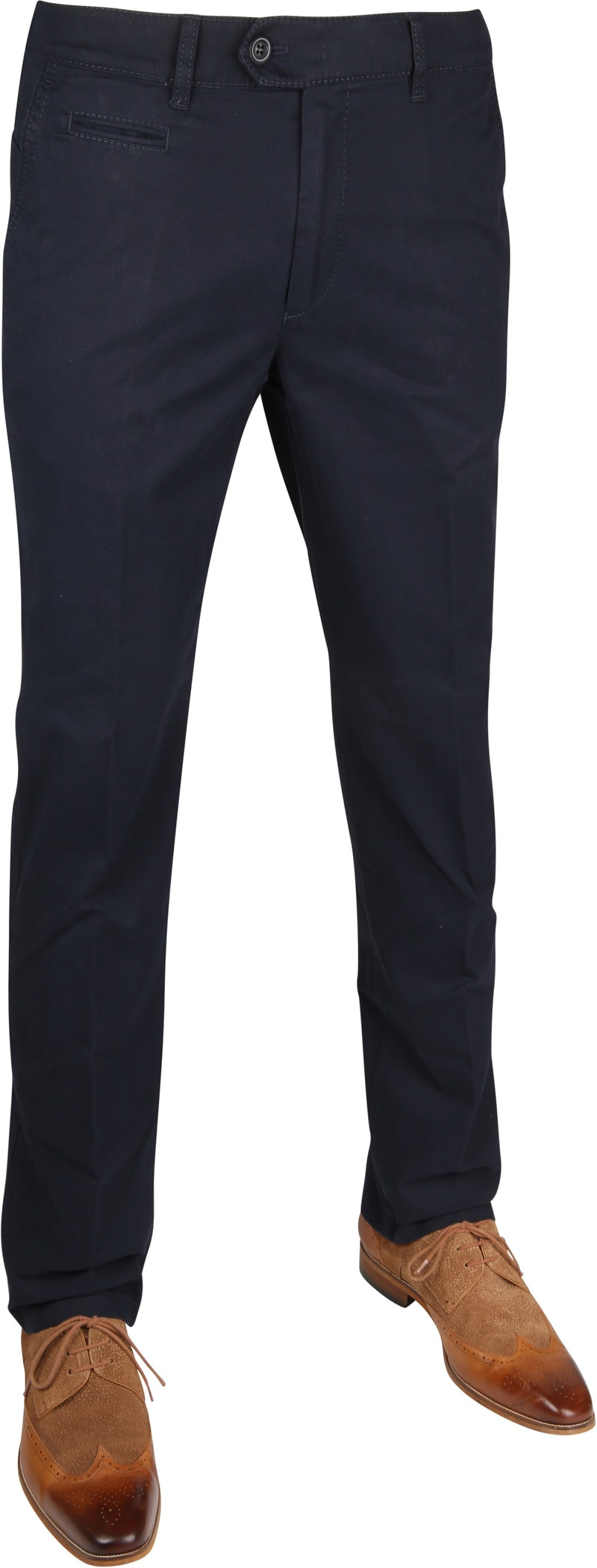 Brax Everest Stretch Chino Navy photo 0