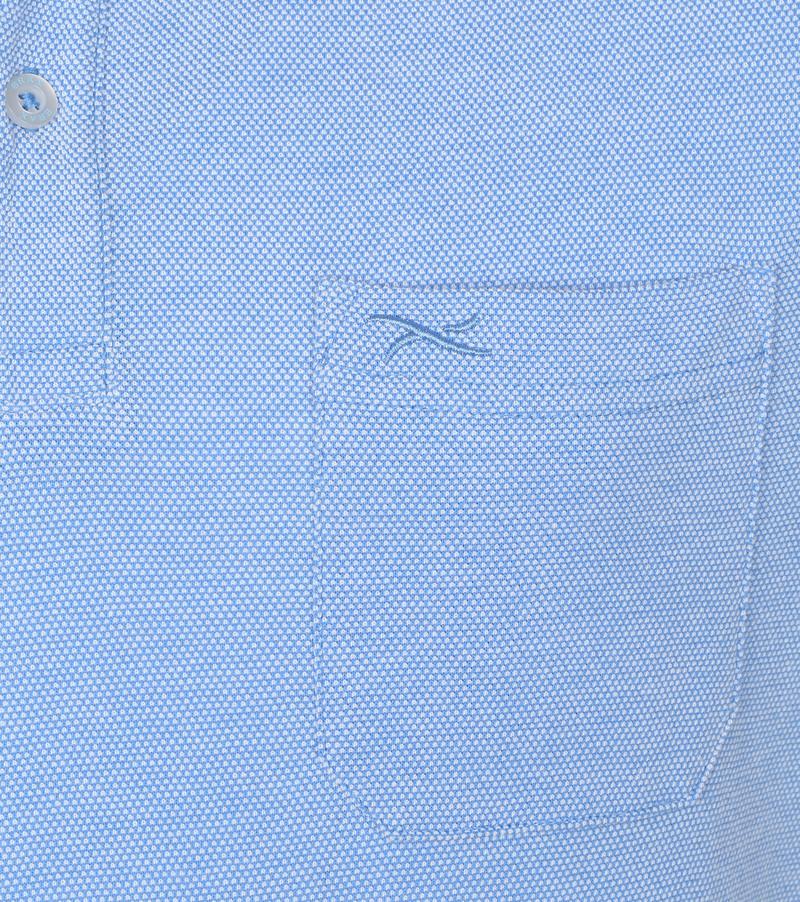 Brax Polo Paddy Lichtblauw - Blauw maat 4XL