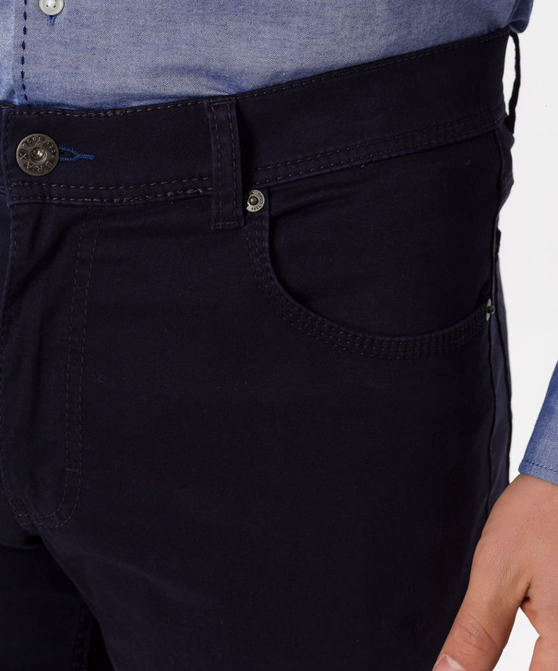 Brax Trousers Cooper Fancy Perma Blue photo 4