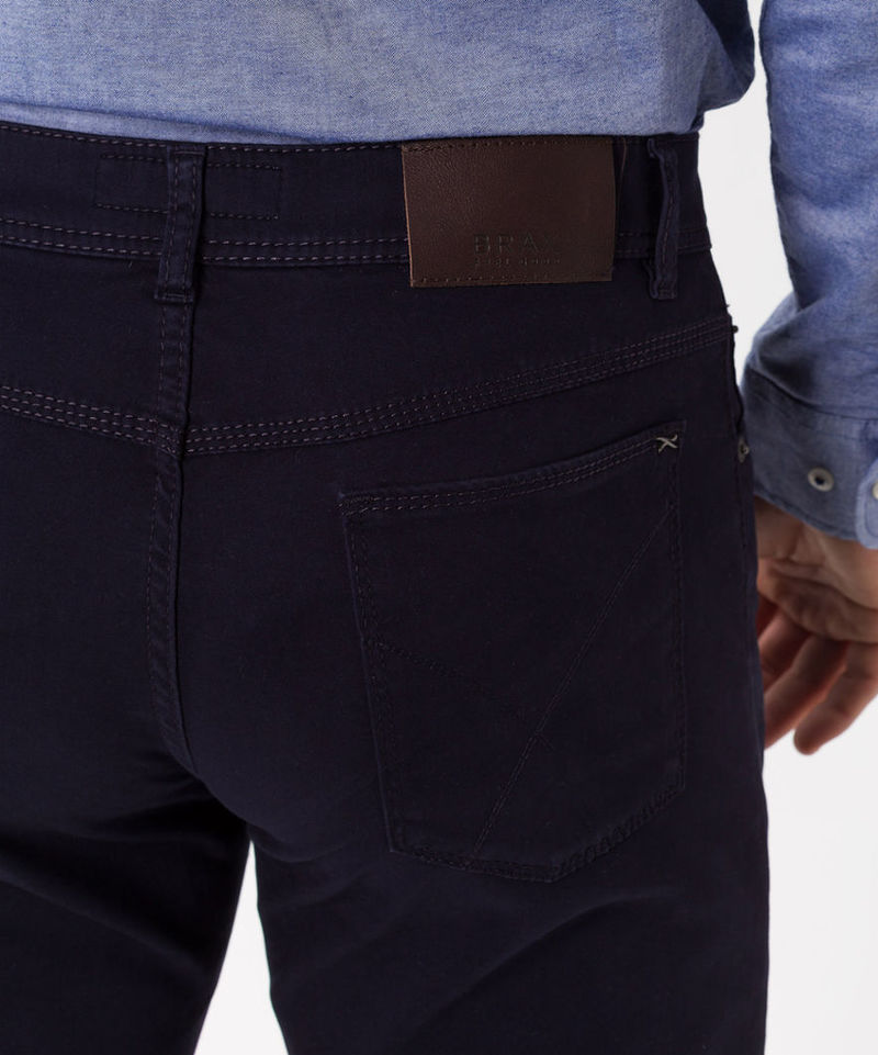 Brax Trousers Cooper Fancy Perma Blue photo 5