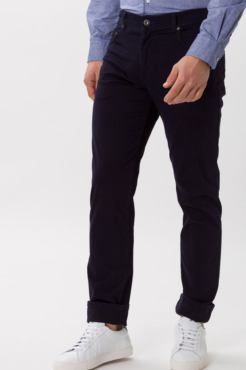 Brax Trousers Cooper Fancy Perma Blue photo 2