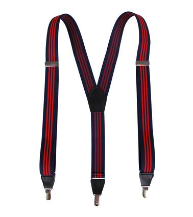 Bretel Navy Red Stripes foto 1