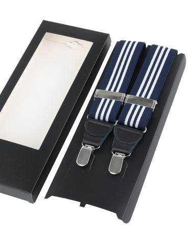 Bretel Navy White Stripes foto 2