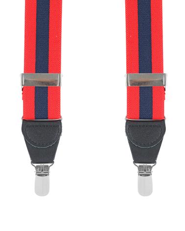 Bretellen Red Navy Stripe foto 0