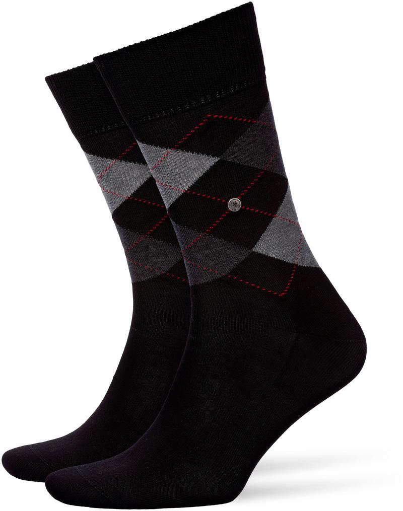 Burlington Socken Kariert Baumwolle 3000 Foto 0
