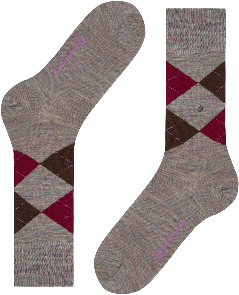 Burlington Socks Edinburgh Melange 7767 photo 4