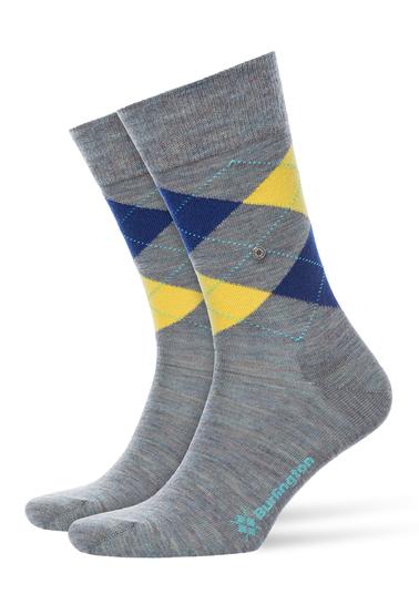Burlington Sokken Edinburgh Grijs  online bestellen | Suitable