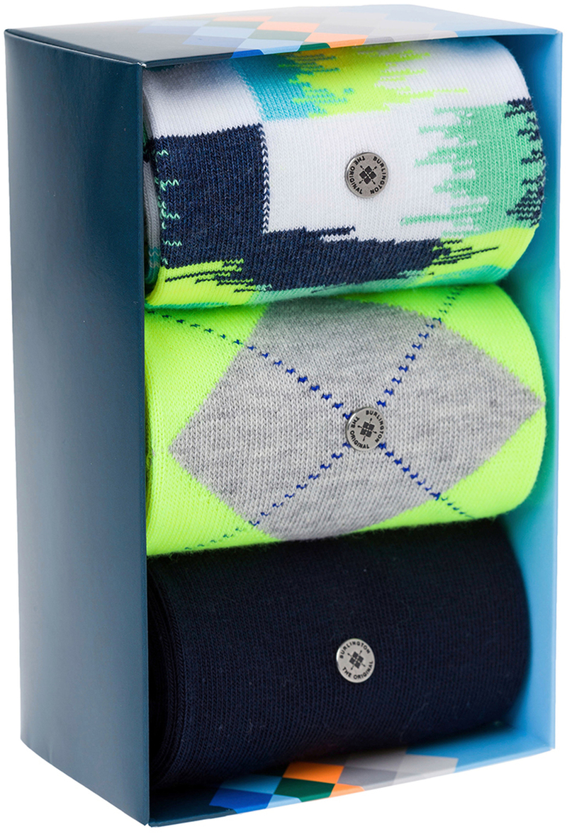 Burlington Sokken Gift Pack Neon