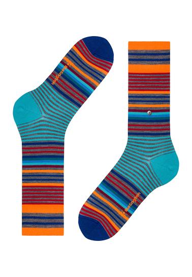 Detail Burlington Sokken Stripes