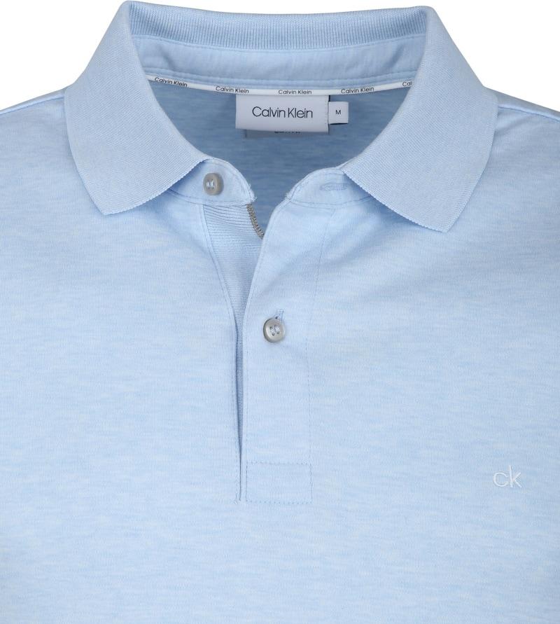 Calvin Klein Hellblau Poloshirt Foto 1