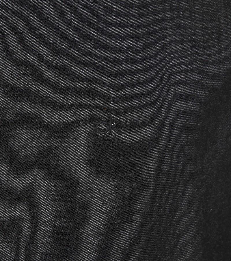 Calvin Klein Overhemd Denim Zwart foto 3